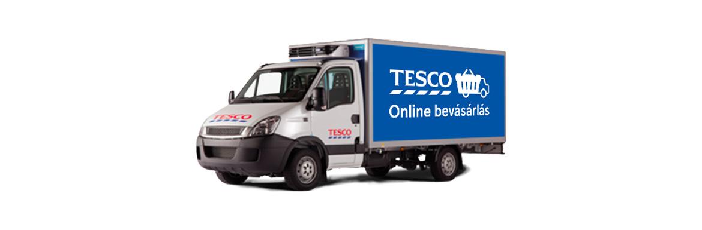 Tesco Online Bevásárlás