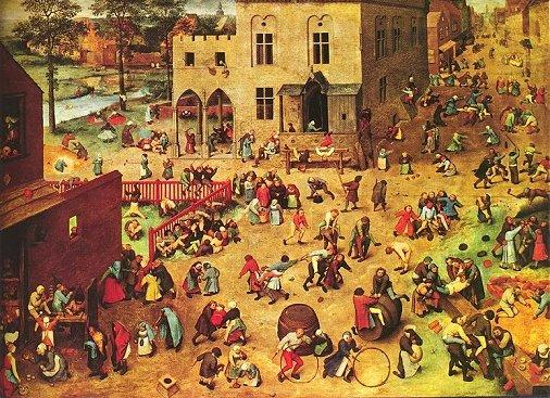Pieter Bruegel dem Älteren: Kinderspiele