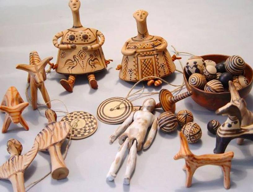 Római kori gyerekjátékok