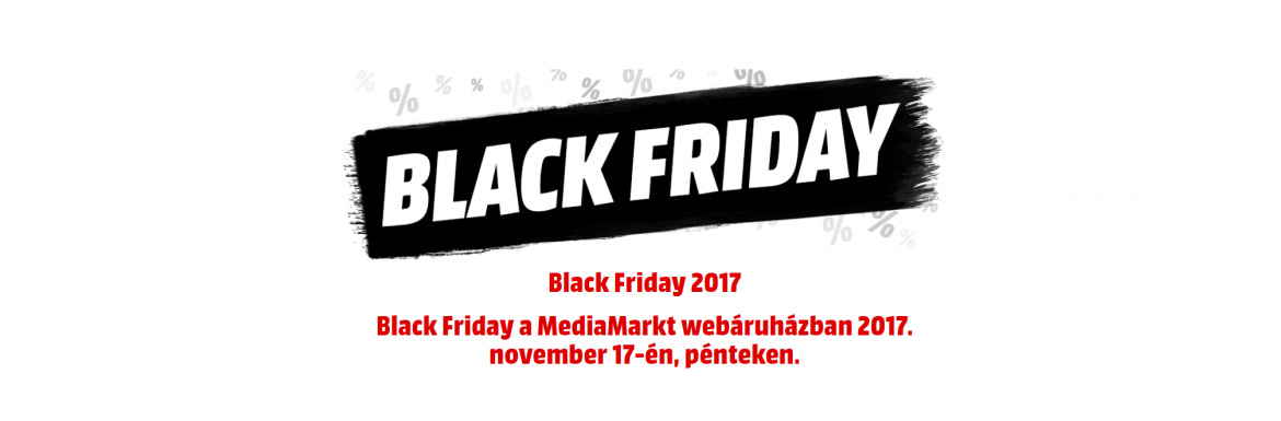 MediaMarkt Black Friday november 17-én!