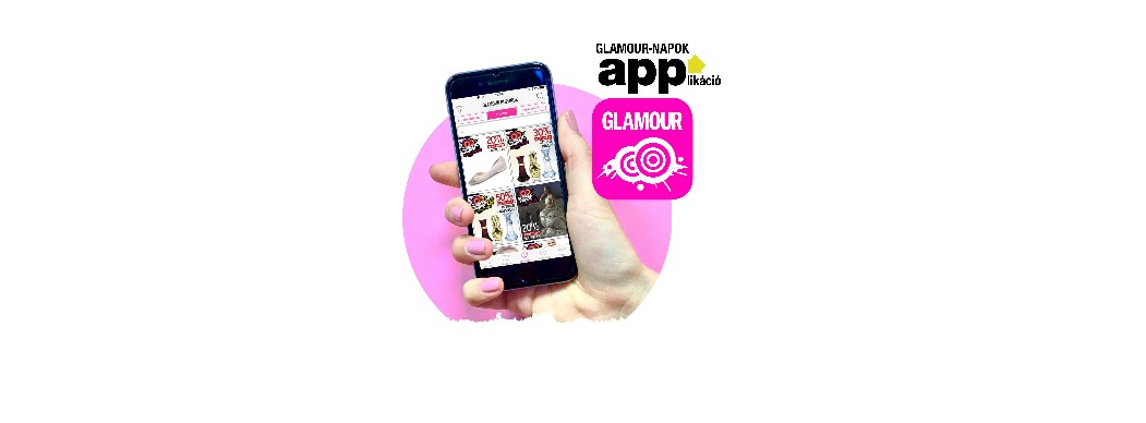 Glamour-Napok 2018, Glamour kupon mobilon is