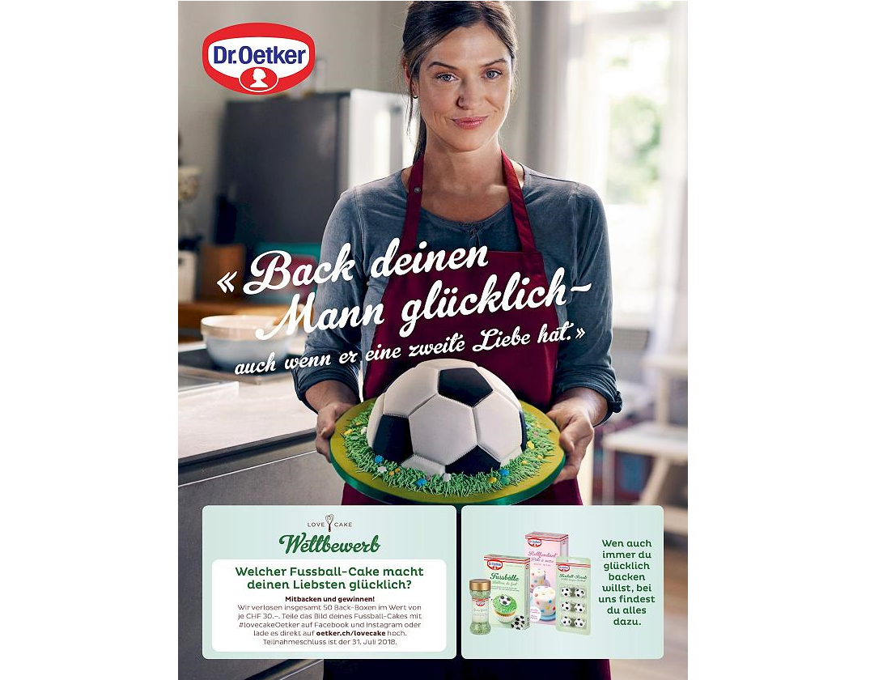 Botrányos Dr. Oetker foci vb reklám