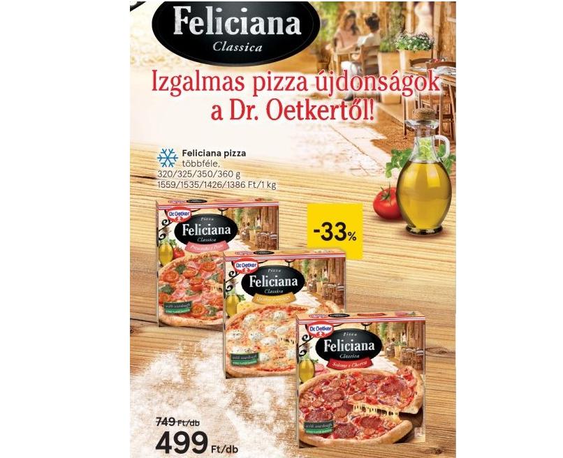 Új pizzák a Dr. Oetkertől – Pizza Feliciana Classica – most akciós áron