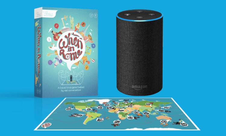 Amazon Alexa – már a társasjátékok világába is beépül