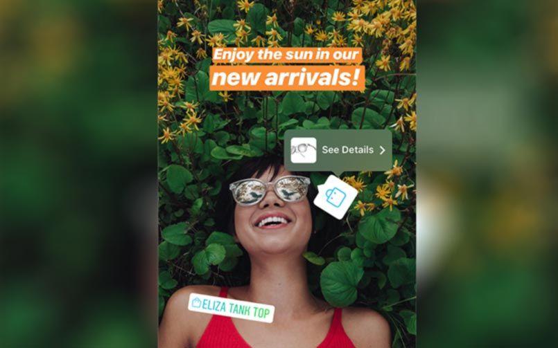 Instagram Stories, immáron vásárlás funkcióval