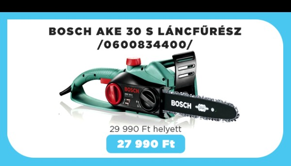 Bosch AKE 30 S láncfűrész