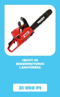 HECHT 45 benzinmotoros láncfűrész