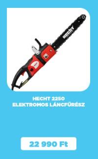 HECHT 2250 elektromos láncfűrész