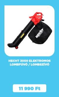 HECHT 3050 elektromos lombfúvó / lombszívó