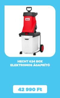 HECHT 624 BOX elektromos ágaprító