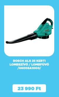 Bosch ALS 25 kerti lombszívó/lombfúvó