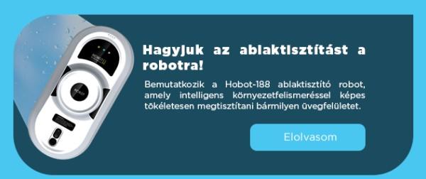 Hobot-188 ablaktisztító robot