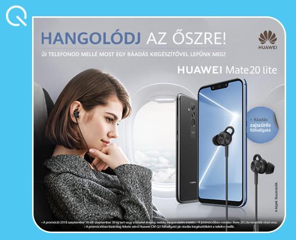 Huawei Mate 20 Lite Dual-Sim mobiltelefon