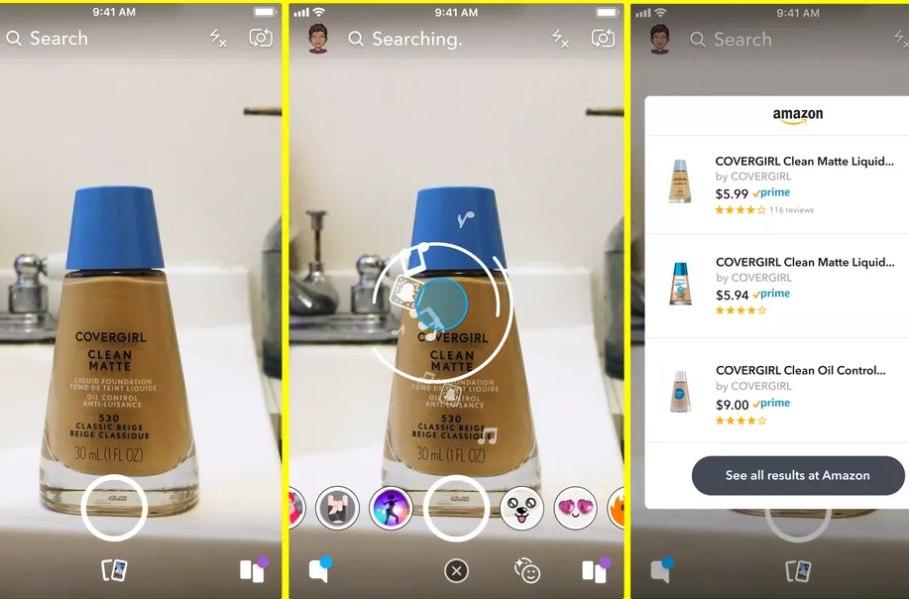 A Snapchat is belép a közösségi vásárlás világába