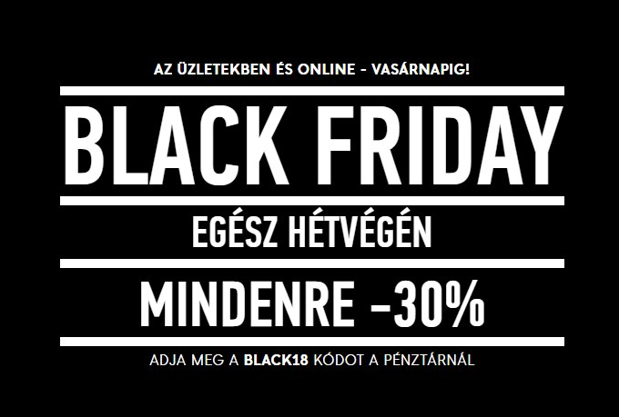 Black Friday – MANGO – 30%-os akció!