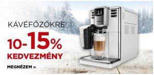 Bronz hétvége kávéfőzők