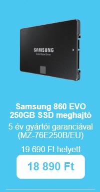 AQUA napok - Samsung 850 EVO
