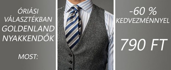 Goldenland nyakkendők - nyakkendőshop.hu