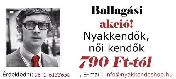 Ballagási akció - nyakkendőshop.hu