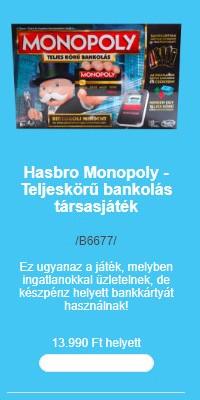 Társasjátékok (két)hete - Monopoly