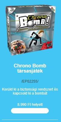 Társasjátékok (két)hete - Chrono Bomb