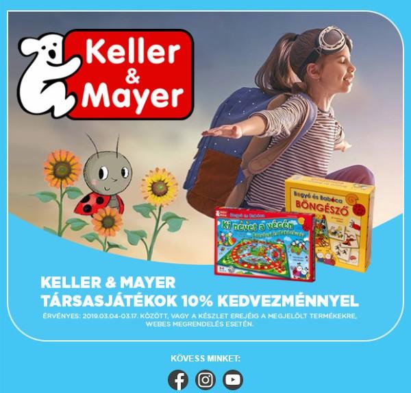 Társasjátékok (két)hete - Keller & Mayer