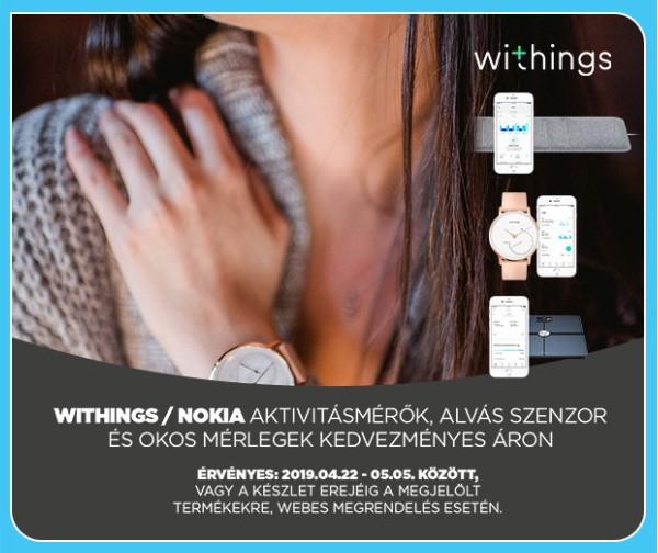Anyák napi ajánlatok - Withings, Nokia