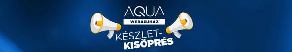 Készletkisöprés az AQUA Webáruházban!