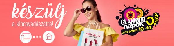 Glamour-napok a Rossmannban