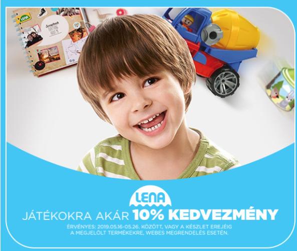 LENA játékok gyereknapra!