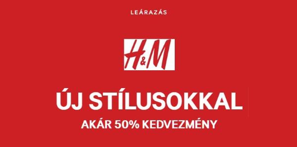 H&M kiárusítás