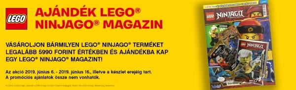 LEGO Ninjago ajándék magazin