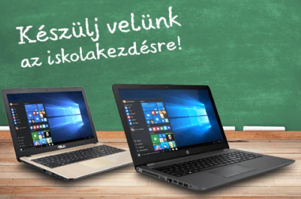 Iskolakezdési ajánlatok - Laptopszalon