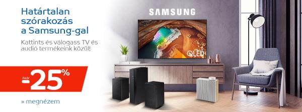Őszi lomtalanítás – Samsung szórakoztató elektronika