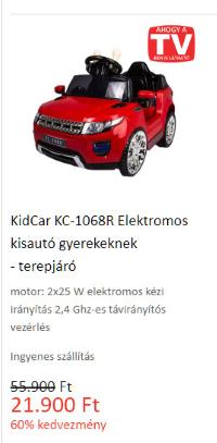 Határtalan szórakozás - KidCar