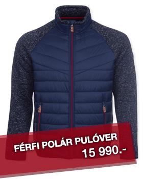 ÁTMENETI DZSEKIK - Férfi polár pulóver