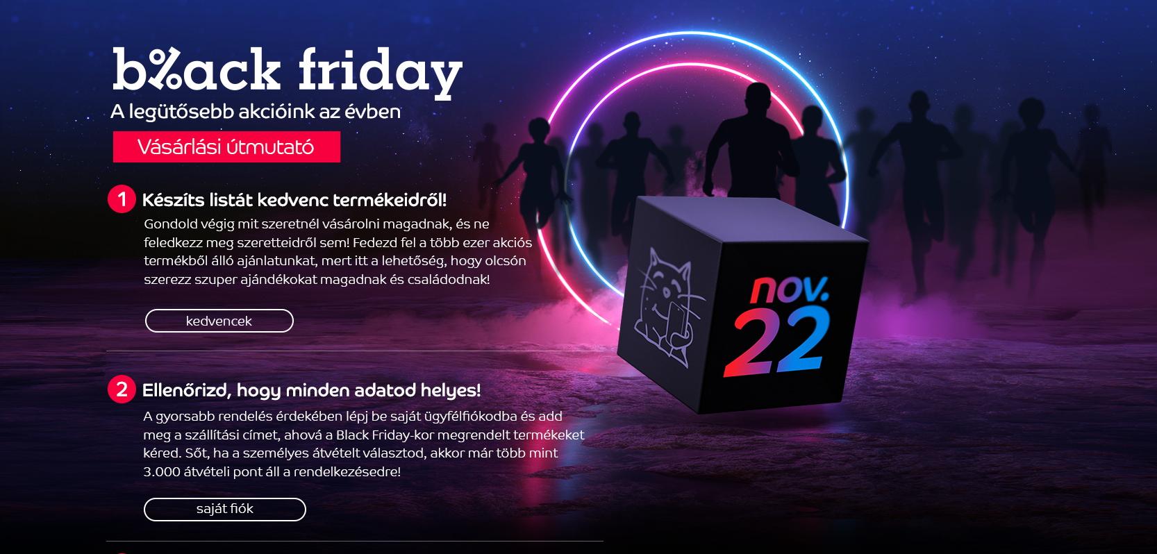 eMAG Black Friday: Nagyon fekete lesz ez a péntek…