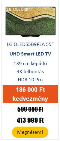 """LG OLED55B9PLA 55"""" 4K Ultra HD Smart OLED Tv"""
