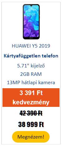HUAWEI Y5 2019 Dual SIM 16 GB