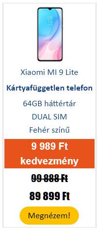 Xiaomi MI 9 Lite 64 GB Dual SIM