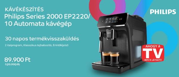 Árfacsarás - Philips Series 2000 EP2220/10 automata kávégép