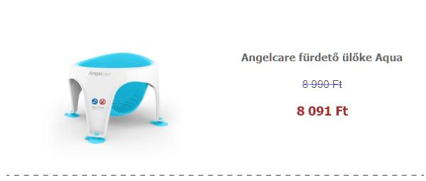 Ápolási termékek akciósan - Angelcare fürdető ülőke Aqua