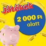 100 Ft-os vásár – 2000 FT ALATT
