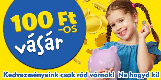 100 Ft-os vásár – JátékBolt.hu