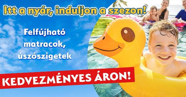 Felfújható matracok, úszószigetek - JátékBolt.hu