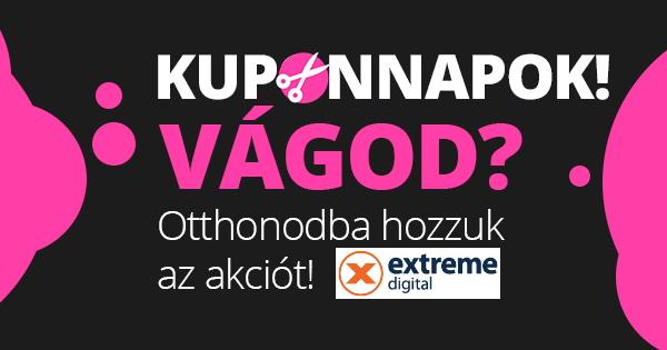 Kuponnapok - Extreme Digital