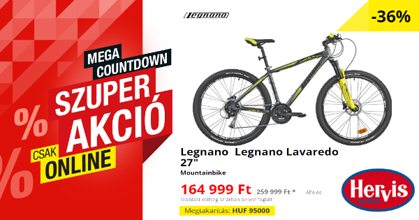 "JúIius végi akciók - Legnano Legnano Lavaredo 27"""
