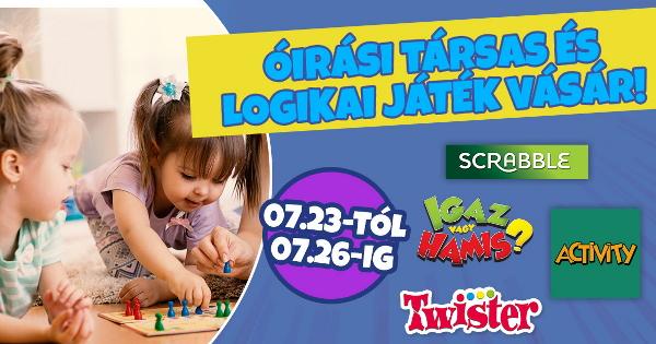 Óriási Társas Akciók - JátékBolt.hu