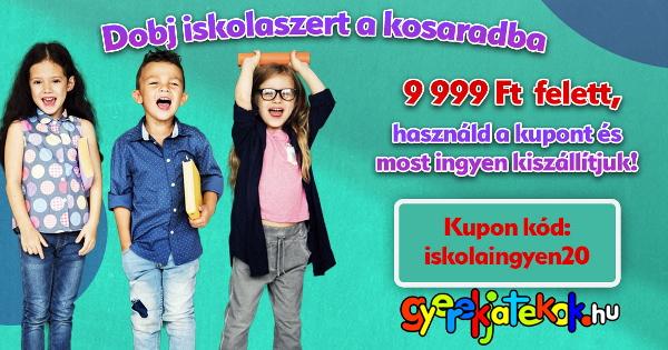 Iskolaszerek ingyen szállítással - GyerekJátékok.hu
