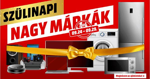 Szülinapi Nagy Márkák akció - MediaMarkt